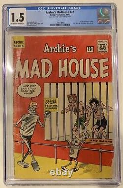 (1962) Archie's Madhouse #22 1st Appearance Sabrina the Teenage Witch! CGC 1.5