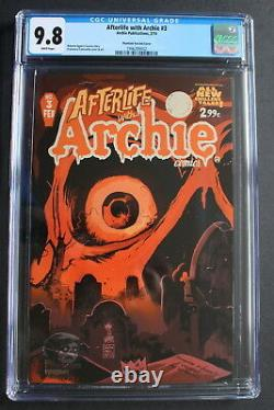 AFTERLIFE With Archie #3 PHANTOM VARIANT cover Francavilla ZOMBIES CGC NM/MT 9.8