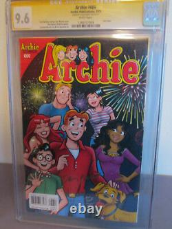 ARCHIE 666 FINAL ISSUE CGC 9.6 SS Signed Dan Parent 2015 (not 9.8) Rare Signed