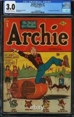 ARCHIE COMICS #1 CGC 3.0 OWithWH PAGES // 1ST ARCHIE COMICS (1942)
