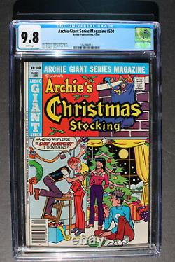 ARCHIE GIANT SERIES #500 Anniversary issue 1980 Christmas Stocking CGC NM/MT 9.8