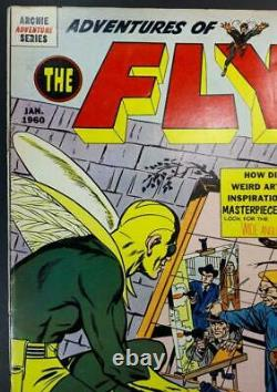 Adventures of the FLY #4 VG/FN 5.0 1st NEAL ADAMS COMIC Archie 1960 CGC worthy