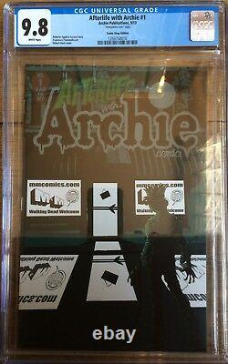 Afterlife With Archie #1 M&M Comics Store Shop Window Front Hack Variant CGC 9.8
