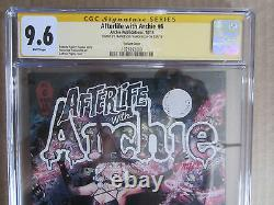 Afterlife with Archie #6 Sabrina Variant CGC Signature 9.6 Francesco Francavilla