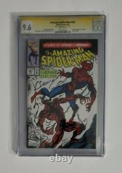 Amazing Spider-man 361 CGC 9.6 Signed by Mark Bagley Carnage
