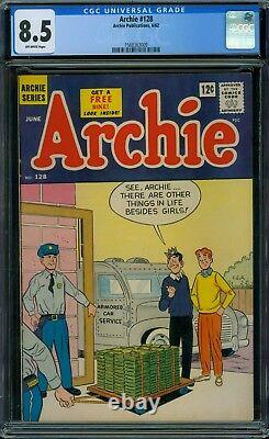 Archie 128 CGC 8.5 Off-White Pages
