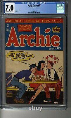 Archie Comics (1942) # 32 CGC 7.0 OWithWhite Pages