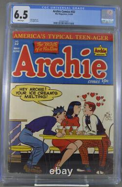 Archie Comics #32 CGC 6.5 White Pages 1948