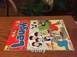 Archie Laugh #166 The Beatles Betty & Veronica CLASSIC COVER Jan 1965 VG/FN 5.0