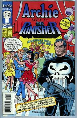 Archie Meets the Punisher #1 (1994) Archie Marvel CGC 9.8 White