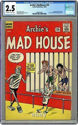 Archie's Madhouse #22-12CENT CGC 2.5 1962 2080425001