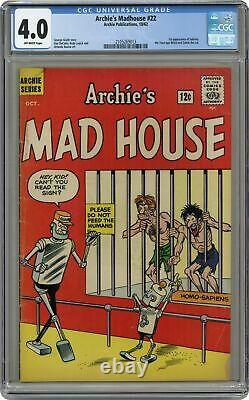 Archie's Madhouse #22-12CENT CGC 4.0 1962 2105269013