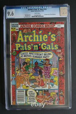 Archie's Pal N Gals #161 CHERYL BLOSSOM 1st 3rd SOLO 1982 Controversial CGC 9.6