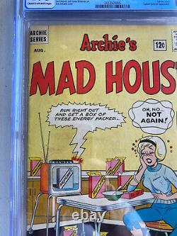 Archies Madhouse #27 CGC 4.0 Cream To OW