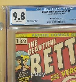 Betty And Veronica 1 Cgc 9.8 Hulk 181 Homage Only 500 Made