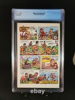 Betty and Veronica #17 CGC 9.4 1988 Archies Series (1st Print)