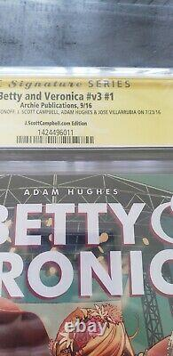Betty and Veronica #1 Archie CGC SS 9.8 Signed 4x Campbell & Hughes Antonoff
