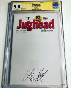 CGC SS 9.8 Jughead v2 #1 Sketch Variant signed by Cole Sprouse Riverdale Archie