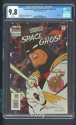 Cartoon Network Presents Space Ghost 1 Cgc 9.8 3/97 Only Issue B. Matheny Story