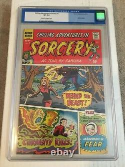 Chilling Adventures In Sorcery 1 Rare 1972 Archie CGC 7.5