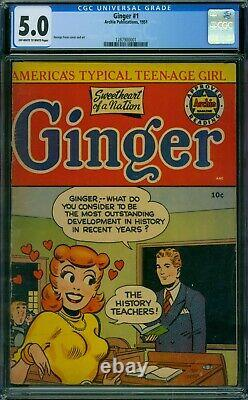 Ginger 1 CGC 5.0 OWithW Pages