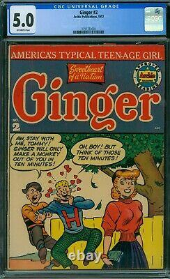 Ginger 2 CGC 5.0 OW Pages