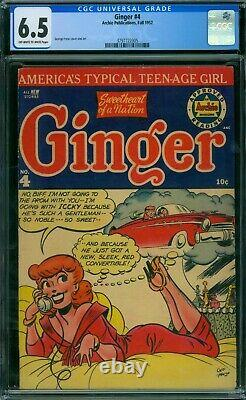 Ginger 4 CGC 6.5 OWithW Pages