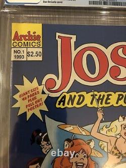 Josie And The Pussycats #1 CGC 9.6 Canadian Newsstand Price Variant