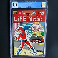 LIFE with ARCHIE #42 (1965) CGC 9.6 SINGLE HIGHEST GRADED! Pureheart Cvr