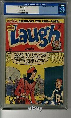 Laugh Comics (1942) # 30 CGC 8.5 Off-White Pages Single Highest Graded