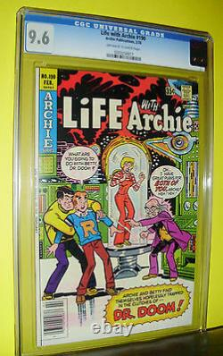 Life With Archie #190 Cgc 9.6 Huge Keysingle Highest Graded Copy