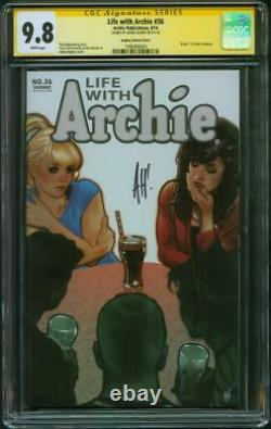 Life with Archie 36 SS 9.8 Adam Hughes art Top 1 Death of Archie Andrews Variant