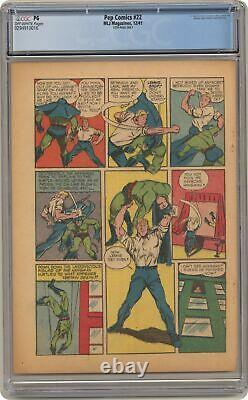 Pep Comics #22 CGC PG 10th Page Only 0294910016 1st app. Archie, Betty, Jughead