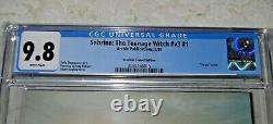 Sabrina The Teenage Witch #v3 #1 CGC 9.8 Hughes Virgin Variant ONLY 500 MADE