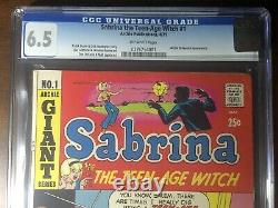 Sabrina the Teen-Age Witch #1 (1971) Premiere Issue! CGC 6.5