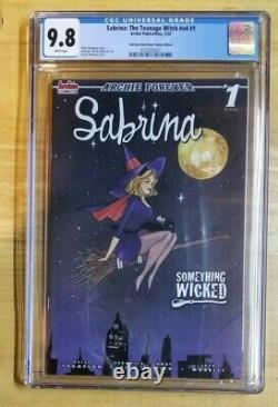 Sabrina the Teenage Witch 1 CGC 9.8 Peach Momoko Bewitched Homage 2020