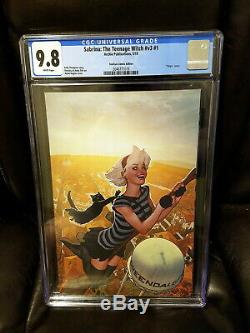 Sabrina the Teenage Witch 1 CGC 9.8 Virgin Variant Hughes Limted to 500 Netflix