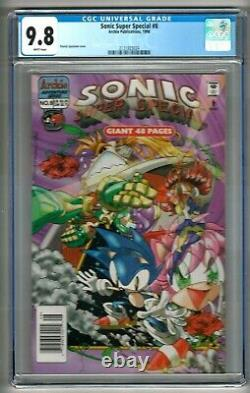 Sonic Super Special #8 (1998) CGC 9.8 WP FIRST in CENSUS NEWSSTAND