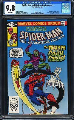 Spider-Man and His Amazing Friends 1 CGC 9.8