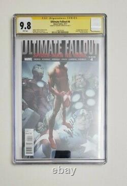 Ultimate Fallout #4 CGC 9.8 First Miles Morales Signed
