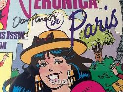Veronica #1 (1989) Archie CGC SS 9.6 NM+ Signed by Dan Parent